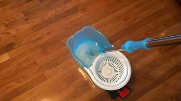 How to remove mop head from hurricane spin mop